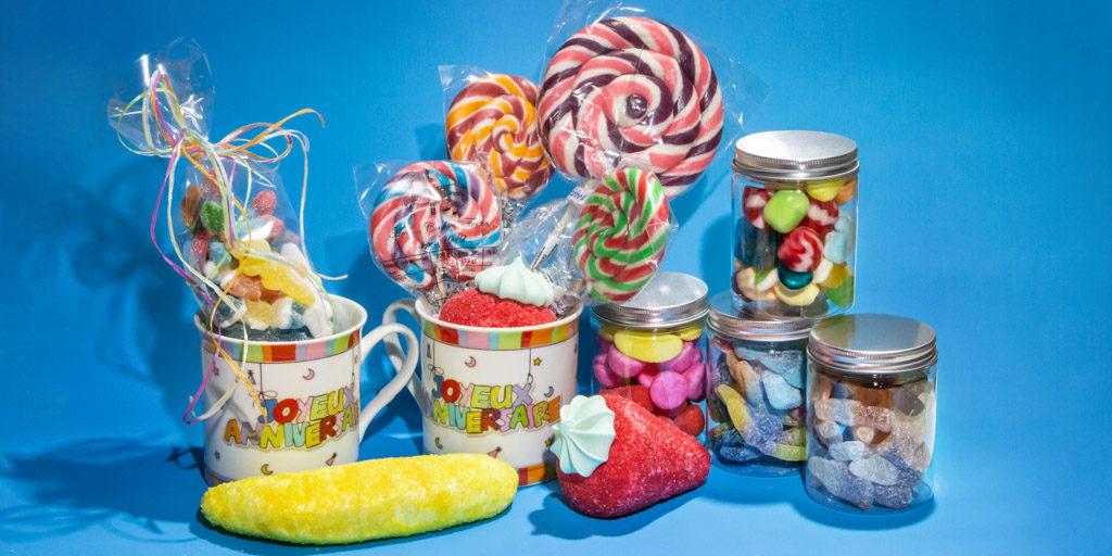 Pleins d'idées cadeaux en bonbons pour toutes les occasions
