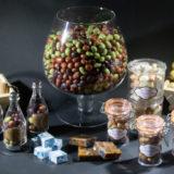 Spécialité charentaise au chocolat, raisin, patates, mogettes et bouchons au chocolats